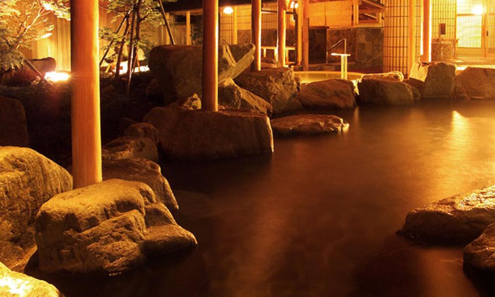 庭園露天風呂(松風館1F)