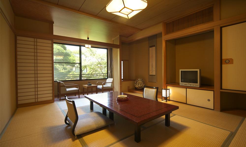 ガーデンビュー和室客室一例<br /> 2名1室2食付 ¥19,950〜