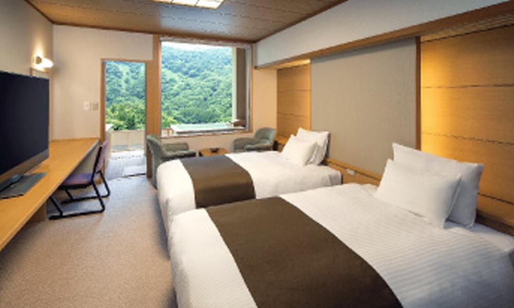 露天風呂付洋室(35㎡)<br /> 2名1室2食付 ¥29,850〜