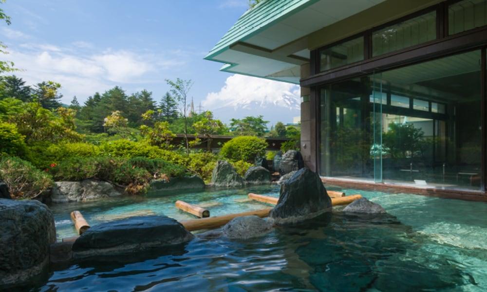 大浴場赤富士露天風呂