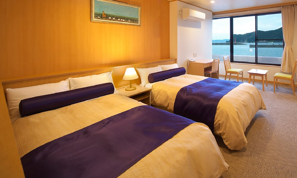 別亭(洋室)1名1室2食付 ¥19,800~<br /> 一部バリアフリー向けの部屋もございます。